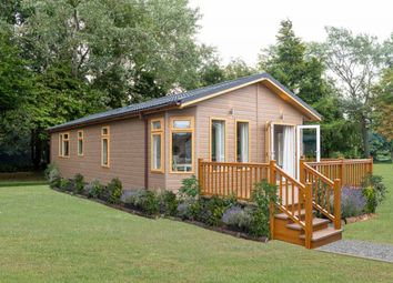 Thumbnail 1 bed mobile/park home for sale in The Wold Retreat, Brigg Road, Caistor, Lincolshire