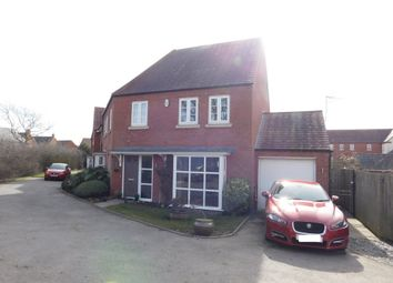 Thumbnail 4 bed detached house for sale in Hope Way, Church Gresley