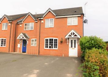 Thumbnail 3 bed town house for sale in Chandlers Croft, Ibstock