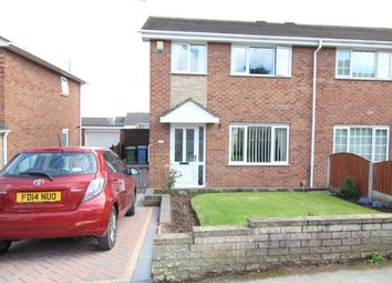 Thumbnail 3 bed semi-detached house for sale in Turnberry, Worksop