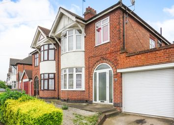 Thumbnail 3 bedroom semi-detached house for sale in Somerville Road, Rowley Fields, Leicester