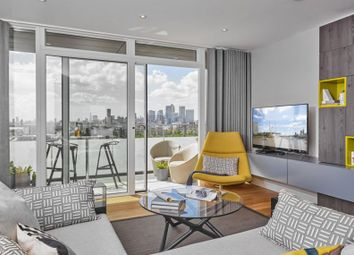 Thumbnail 3 bed duplex for sale in Building 103, The Village Square, West Parkside, Greenwich, London