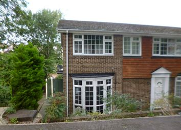 Thumbnail 3 bed end terrace house to rent in Hook Close, Chatham