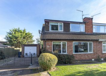 Thumbnail 3 bed semi-detached house for sale in West End Close, Nottingham