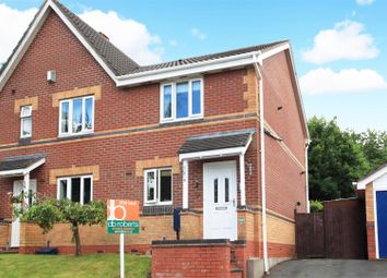 Thumbnail 2 bedroom semi-detached house for sale in Ragged Robins Close, St. Georges, Telford
