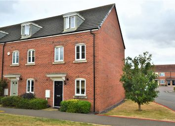 Thumbnail 3 bed town house for sale in Banks Crescent, Stamford