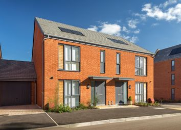 "Thumbnail 3 bed semi-detached house for sale in ""Elderleaf"" at Louisburg Avenue, Bordon"