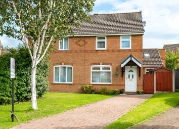 Thumbnail 3 bed semi-detached house for sale in Clarkfield Close, Burscough, Ormskirk