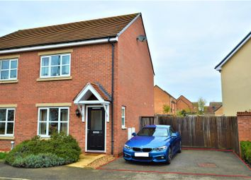 Thumbnail 3 bed semi-detached house for sale in Banks Crescent, Stamford