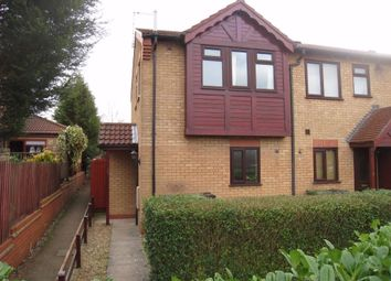 Thumbnail End terrace house to rent in Talbott Close, Broughton Astley, Leicester