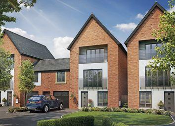 "Thumbnail 5 bedroom town house for sale in ""The Alder "" at Berrington Road, London Road, Hampton"