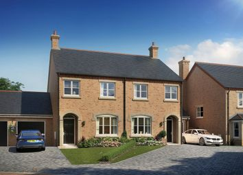 "Thumbnail 3 bed property for sale in ""The Amersham"" at Beatrice Place, Fairfield, Hitchin"