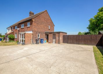 Thumbnail 3 bed semi-detached house for sale in Fox Hill, Guilden Morden, Royston