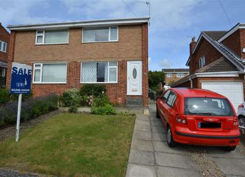 Thumbnail 2 bed semi-detached house for sale in Dale Bank Crescent, New Whittington, Chesterfield, Derbyshire