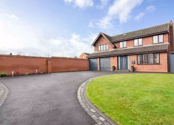 Thumbnail 4 bed detached house for sale in Wedgewood Close, Chase Terrace, Burntwood