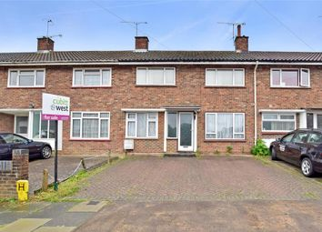 Thumbnail 3 bed terraced house for sale in Monksfield, Three Bridges, Crawley, West Sussex