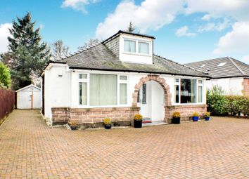 Thumbnail 4 bed detached bungalow for sale in Great Western Road, Glasgow