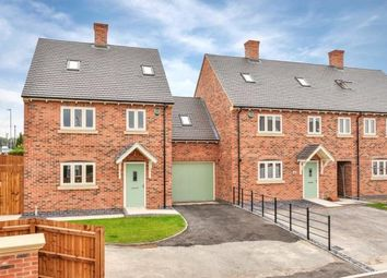 Thumbnail 4 bed terraced house for sale in Oakthorpe, Swadlincote, Derbyshire
