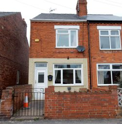 Thumbnail 4 bed end terrace house for sale in Elmton Road, Creswell, Worksop