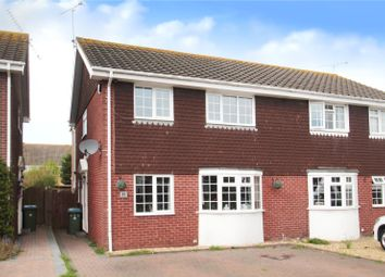 Thumbnail 4 bed semi-detached house for sale in The Hooe, Littlehampton
