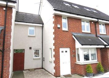 Thumbnail 3 bed town house for sale in Millgate Crescent, Airdrie