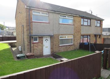 Thumbnail 3 bed semi-detached house for sale in Rockleigh Avenue, Aberbargoed, Bargoed
