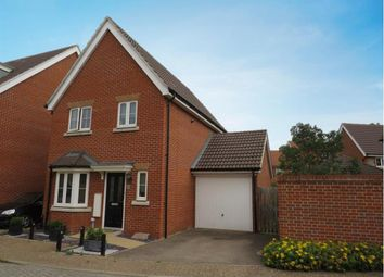 Thumbnail 3 bed link-detached house for sale in Hornbeam Avenue, Red Lodge, Bury St. Edmunds