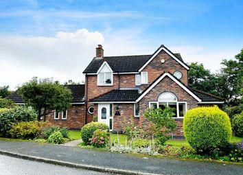 Thumbnail 4 bed detached house to rent in Deacons Close, Croft, Warrington