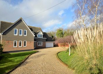Thumbnail 5 bed detached house for sale in Church Road, Ramsden Bellhouse, Billericay