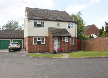 Thumbnail 4 bed detached house for sale in Long Meadow, Wigston, Leicester