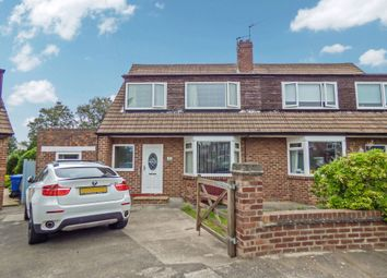Thumbnail 3 bed semi-detached house for sale in The Turn, Loansdean, Morpeth