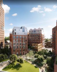 Thumbnail 1 bed flat for sale in Keybridge House Development, 80 South Lambeth Road, London