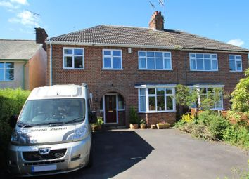 Thumbnail 5 bed semi-detached house for sale in Bradgate Road, Newtown Linford, Leicester