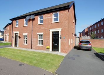 Thumbnail 3 bed semi-detached house for sale in Linen Avenue, Bangor