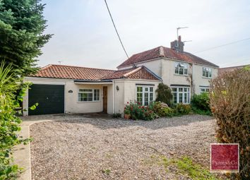 Thumbnail 4 bed semi-detached house for sale in Woodbastwick Road, Blofield, Norwich