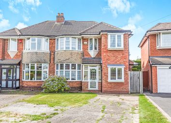 Thumbnail 3 bed semi-detached house for sale in Hawthorne Road, Castle Bromwich, Birmingham