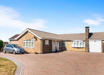 Thumbnail 3 bed detached bungalow for sale in Ridgeview Road, Bracebridge Heath, Lincoln