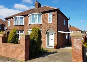 Thumbnail 3 bed semi-detached house for sale in Derwentwater Avenue, Acklam, Middlesbrough