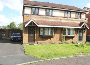 Thumbnail 2 bed semi-detached house for sale in Dovedale Close, Ingol, Preston