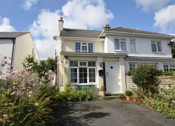 Thumbnail 2 bed semi-detached house to rent in Church Road, Charlestown, St Austell, Cornwall