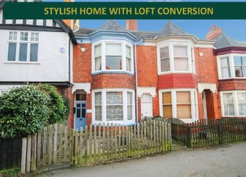 Thumbnail 4 bed terraced house for sale in Knighton Road, Knighton, Leicester