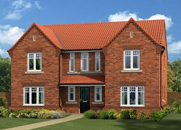 "Thumbnail 5 bed detached house for sale in ""The Edlingham"" at Lovesey Avenue, Hucknall, Nottingham"