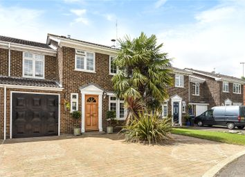 Thumbnail 4 bedroom semi-detached house for sale in Riversdell Close, Chertsey, Surrey