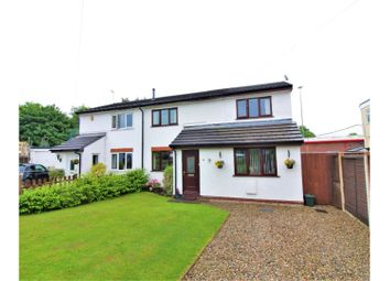 Thumbnail 4 bed semi-detached house for sale in St. Davids Close, Ewloe