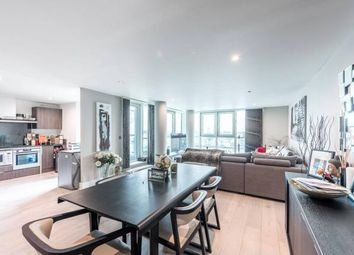 Thumbnail 3 bed flat for sale in St George Wharf, London