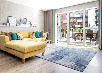 Thumbnail 2 bedroom flat for sale in Dylon Works, Lower Sydenham, London