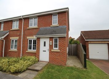 Thumbnail 3 bed semi-detached house for sale in Sargeson Road, Armthorpe, Doncaster