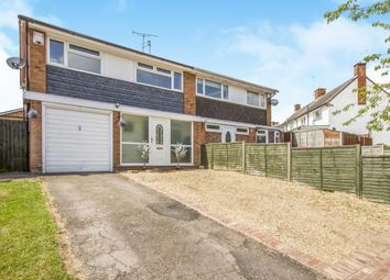 Thumbnail 3 bedroom semi-detached house for sale in Langham Drive, Narborough, Leicester