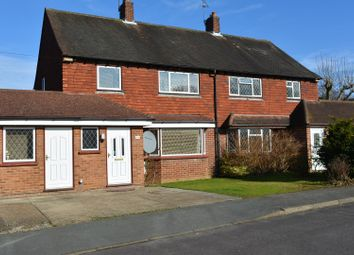Thumbnail 3 bed semi-detached house for sale in Glendale Drive, Guildford