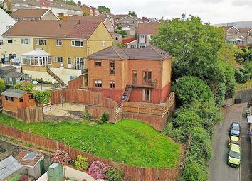Thumbnail 4 bed detached house for sale in Ridgeway Close, Graigwen, Pontypridd